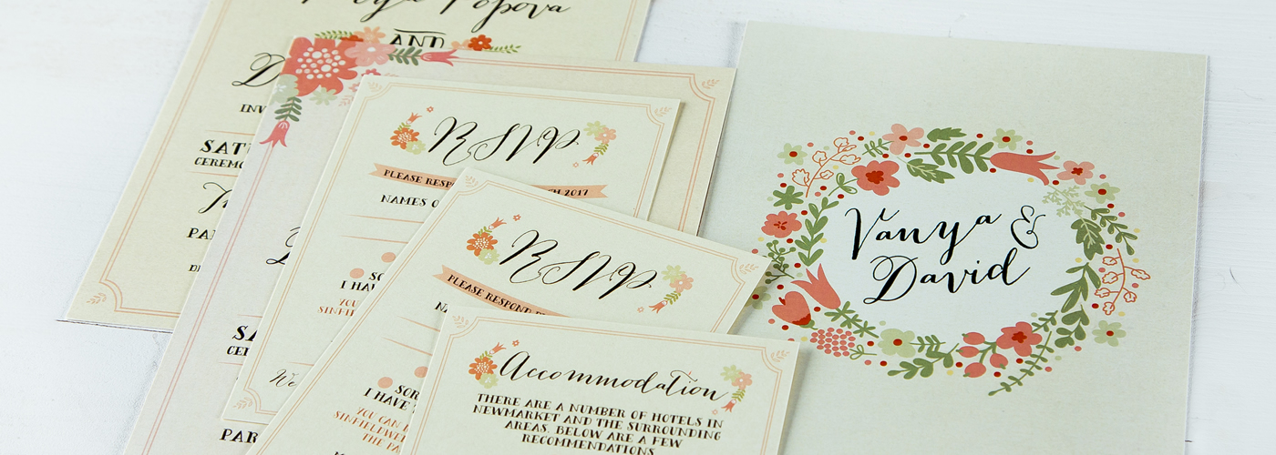wedding guest invites